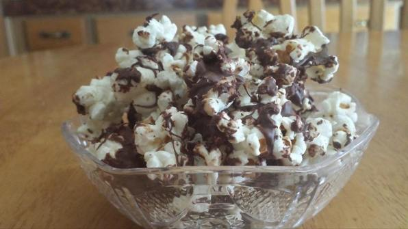 Chocolate Covered Boom Chicka Popcorn