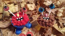 Monster Cupcakes for Fall