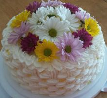 Lemon Chiffon Birthday Cake