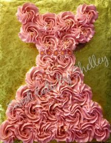Princess birthday cupcake dress.