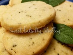 Lemon Sage Shortbread