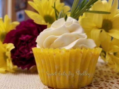 Lemon Rosemary Cupcakes