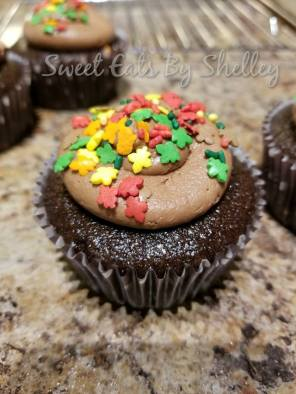 Chocolate Cupcakes with Chocolate Marshmallow Buttercream